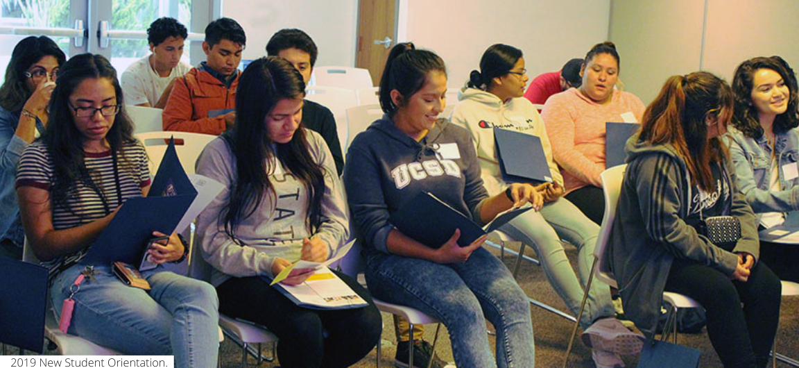 UC San Diego students in a workshop